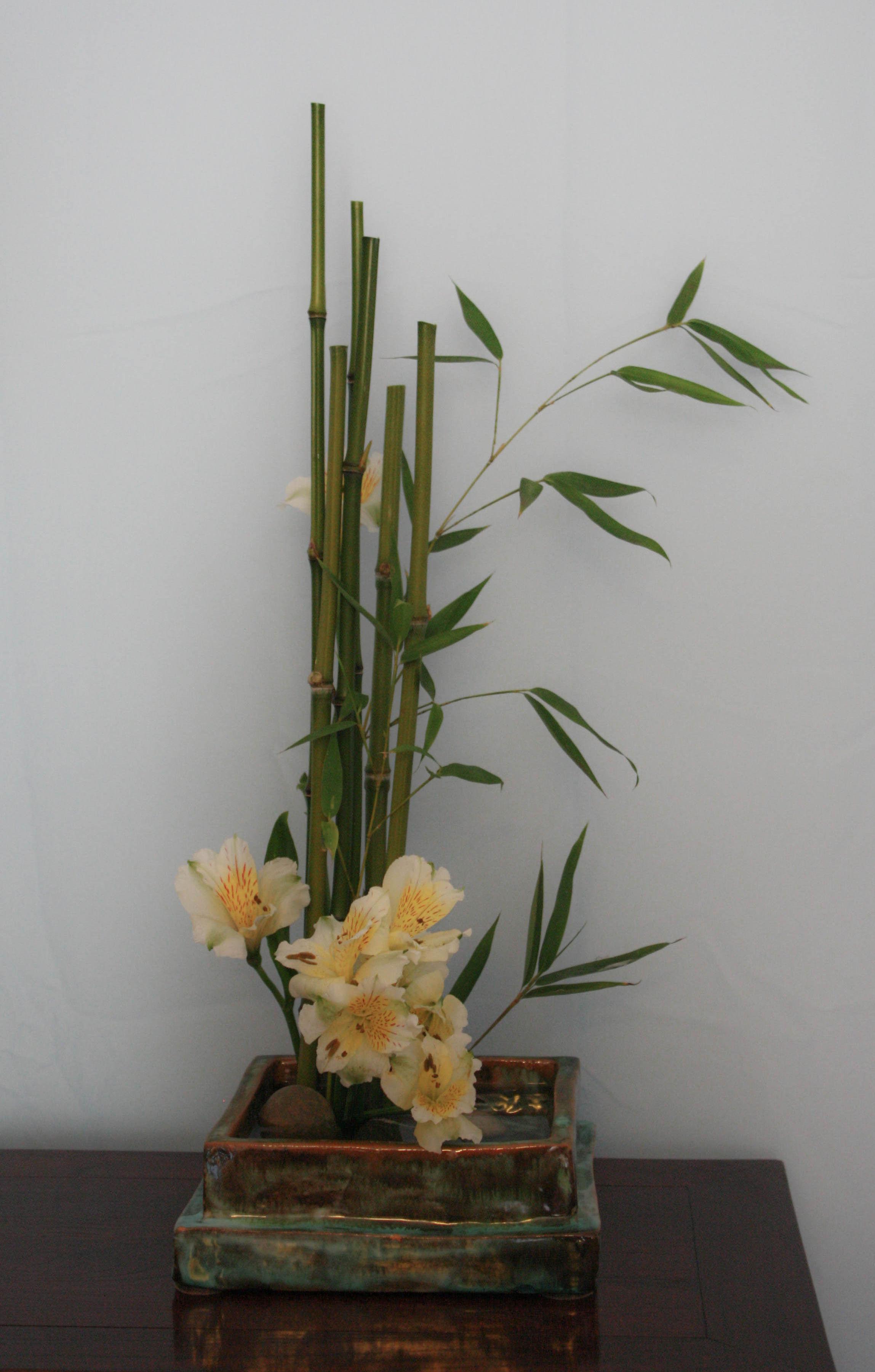 Show luca ramacciotti sogetsu concentus study group for Canne di bamboo da arredo