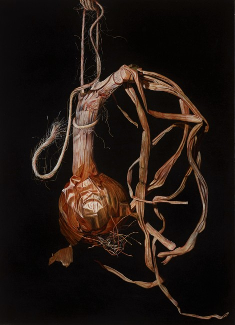 Giuseppe Carta_Cipolla danzante_1998 olio su tela cm 75,5x55,5_allrightsreserved