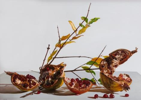 Giuseppe Carta_Memorie d'autunno, 2012-2013, olio su tela cm. 55x80_allrightsreserved