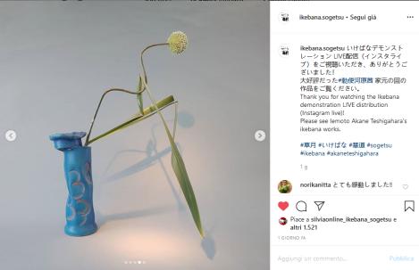 Screenshot_2020-06-07 いけばな草月流 Sogetsu Ikebana ( ikebana sogetsu) • Foto e video di Instagram
